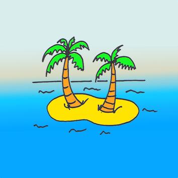 Onbewoond eiland